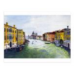 Gran Canal, Venecia, Italia Postal