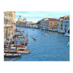 Gran Canal - Venecia Italia Tarjeta Postal