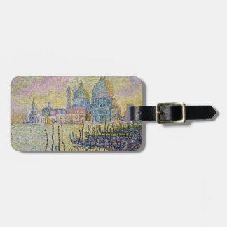 Gran Canal Venecia - Paul Signac Etiqueta De Maleta