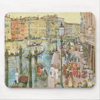 Gran Canal, Venecia por Prendergast, arte del Tapete De Raton