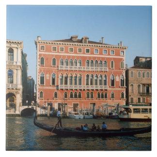 Gran Canal, Venecia, Véneto, Italia Teja Ceramica