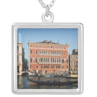 Gran Canal, Venecia, Véneto, Italia Colgante Cuadrado