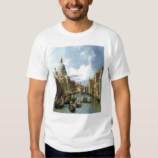 """""""Gran Canal y la iglesia del Salute Playera"""