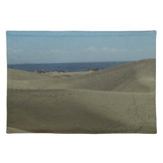 Gran Canaria Sand Dunes Cloth Placemat