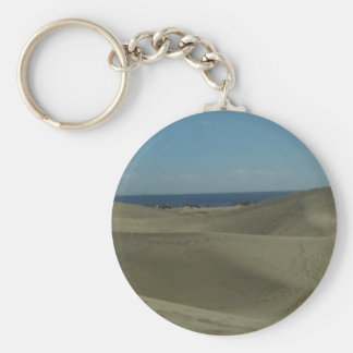 Gran Canaria Sand Dunes Keychain