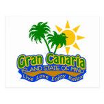 Gran Canaria State of Mind postcard