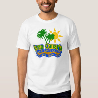 Gran Canaria State of Mind shirt - choose style