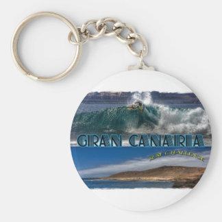 Gran Canaria Surf Challenge Keychain