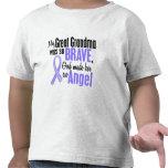 Gran cáncer de estómago de la abuela del ángel 1 camiseta
