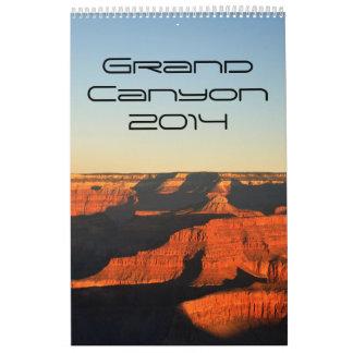 Gran Cañón 2014 (1p) Calendarios