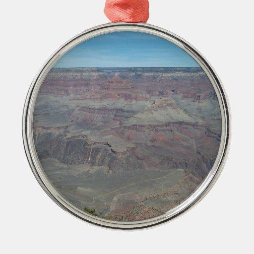 Gran Cañón, Arizona Adorno Navideño Redondo De Metal