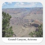 Gran Cañón, Arizona Colcomanias Cuadradas
