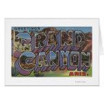 Gran Cañón, Arizona - escenas grandes de la letra Tarjeta De Felicitación