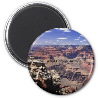 Gran Cañón, Arizona Imán Redondo 5 Cm