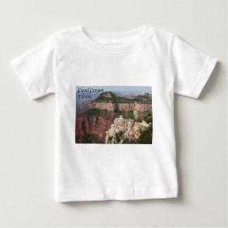 Gran Cañón, Arizona, los E.E.U.U. (subtítulo) Playera De Bebé