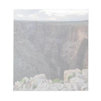 Gran Cañón Arizona que mira en el abismo Libretas Para Notas