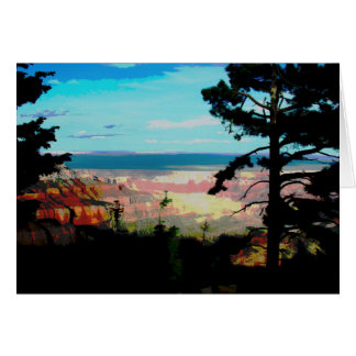 Gran Cañón Arizona Tarjeta De Felicitación