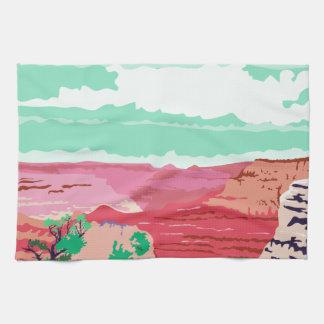 Gran Cañón Arizona WPA Toallas