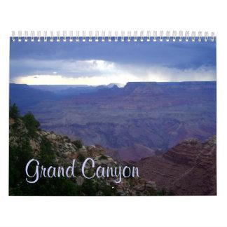 Gran Cañón calendario de 17 meses