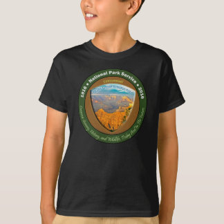 Gran Cañón centenario de las camisetas del parque