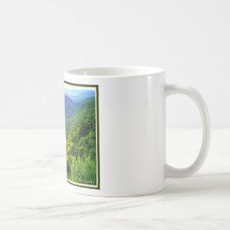 Gran Cañón de Pennsylvania en verano Taza De Café