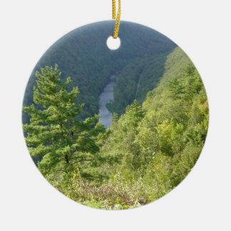 Gran Cañón de Pennsylvania por la avenida Hurley Adornos De Navidad