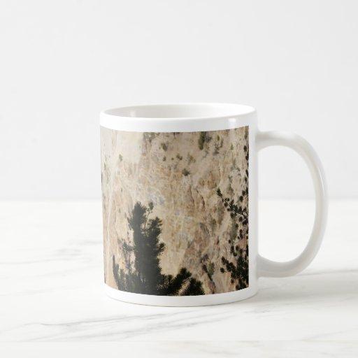 Gran Cañón de Yellowstone Tazas De Café