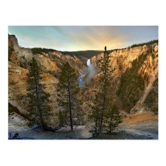 Gran Cañón de Yellowstone, Yellowstone Tarjeta Postal