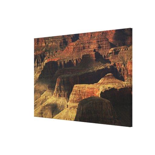 Gran Cañón del borde del sur en la puesta del sol, Lona Envuelta Para Galerias