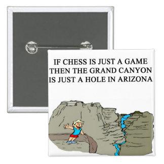 Gran Cañón del jugador del juego de ajedrez Pins