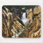 Gran Cañón del parque de Yellowstone que mira Towa Tapetes De Raton