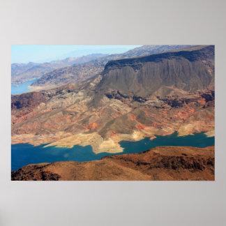Gran Cañón del río Colorado Póster