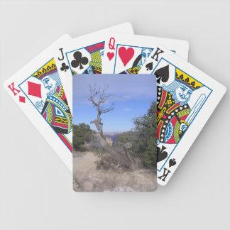 Gran Cañón desnudo del árbol Baraja Cartas De Poker