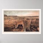 Gran Cañón en el pie de Toroweap 1882 Impresiones