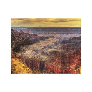 Gran Cañón Lona Envuelta Para Galerías