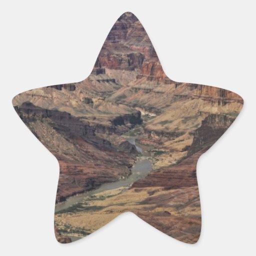 Gran Cañón Pegatina En Forma De Estrella