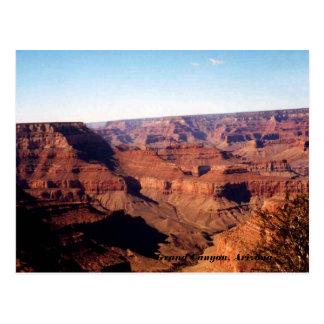 Gran Cañón, postal de Arizona
