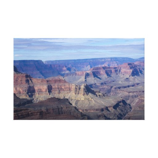 Gran Cañón Vista 7 Impresiones En Lona Estiradas