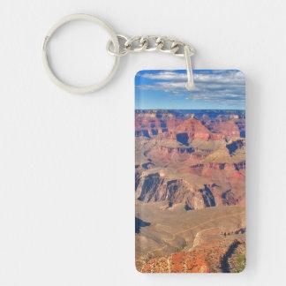 Gran Cañón Vista Llavero Rectangular Acrílico A Una Cara