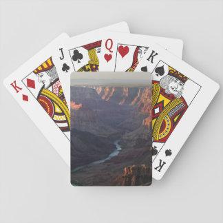 Gran Cañón y el río Colorado en Arizona Cartas De Juego