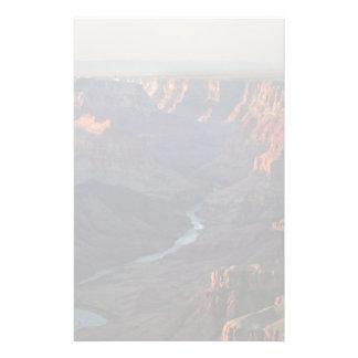 Gran Cañón y el río Colorado en Arizona Papeleria De Diseño