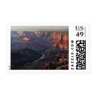 Gran Cañón y el río Colorado en Arizona Sellos