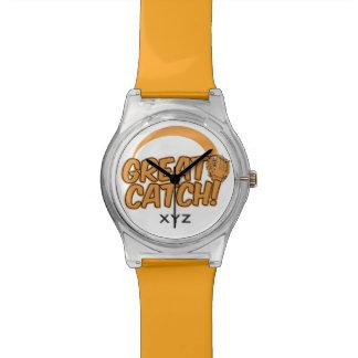 ¡GRAN CAPTURA! relojes de encargo del monograma
