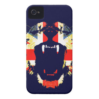 Gran caso británico del iphone del Union Jack del Case-Mate iPhone 4 Cárcasas