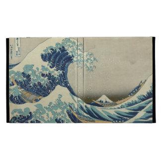 Gran caso de Caseable del iPad de Hokusai de la on
