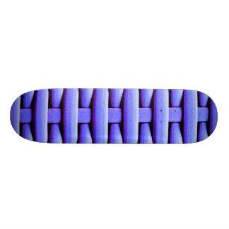 gran cesta trenzada, azul patinetas personalizadas