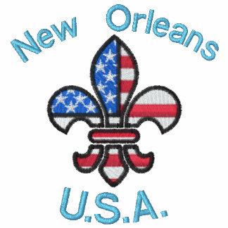 Gran chaqueta de New Orleans los E.E.U.U.