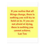 gran cita de Tzu del Lao Postal