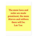 gran cita de Tzu del Lao Postales