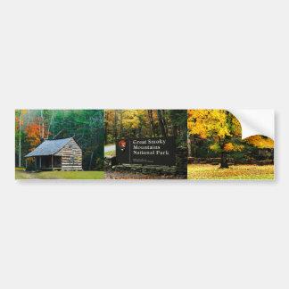 Gran collage de la pegatina para el parachoques de pegatina para auto